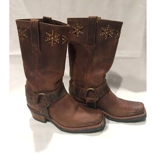Authentic Frye Harness Boots